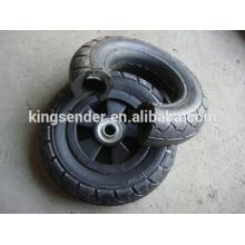 Roda de borracha semi-pneumática 200X50