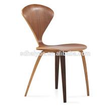 HY4003 NEUE Fabrik Großhandel Top Qualität Bent Plywood Dinning Chairn beine