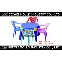 Plastiktabelle und Stuhl-Form / Plastikmöbel-Form