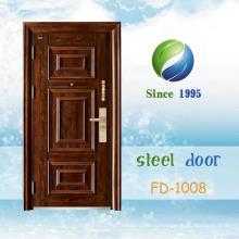 Китай новейшие разработки и дизайн один входная дверь (ФД-1008)