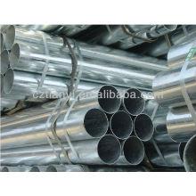 Tubo / tubo de aço soldado galvanizado quente do diâmetro grande 4 '' 6 ''
