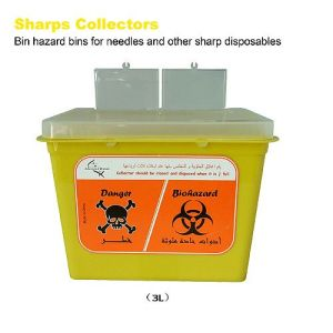 Professional Non-polluted Tattoo Sharps Collectors