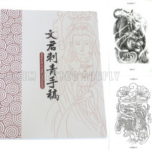 The Newest Fanshion custom design Tattoo Book