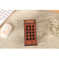 British Telephone Booth Piggy Bank with LED Light