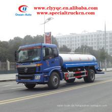 Foton Auman 12000 Liter Wasser Bowser 4X2 Wassersprinkler zum Verkauf