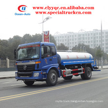 Foton Auman 12000 liters water bowser 4X2 water sprinkler for sale