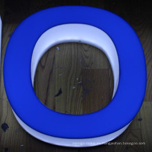 Al aire libre utilizado LED Lighting Acrylic Letter Sign