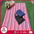 Handbag style 100% cotton waterproof outdoor picnic blanket