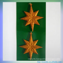 Plastic Decorative Acrylic star Christmas ornament