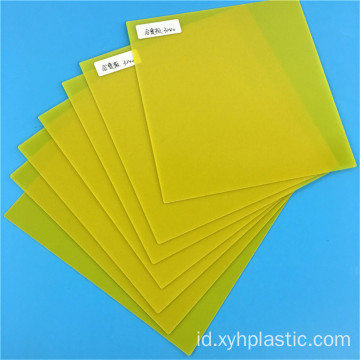 Kuning 3240 Epoxy Glass Resin Feber Plate