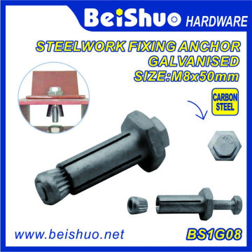 Made in China Hot Sales High Quality Hex Expansion Anchor Bolts
