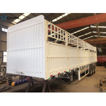 Stake Animal Transport Fence Cargo Panels Trailer