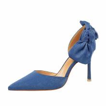 High Quality Office Wear Pointed Toe High Stiletto Heels Ladies Pumps Elegant