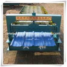 China Galvanized Metal Roof Tile Roll Forming Machine