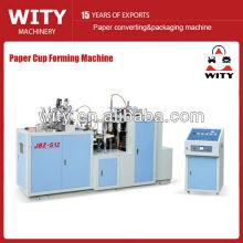 Copo de papel que faz preços da máquina