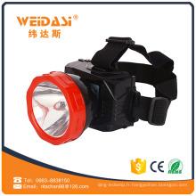Torche principale lumineuse multifonctionnelle d'éclairage professionnel à vendre