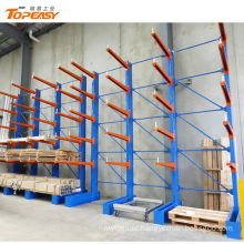 ODM heavy duty single-side iron car cantilever pallet rack