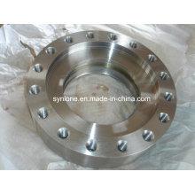 Flange comum do anel de aço inoxidável com fazer à máquina do CNC