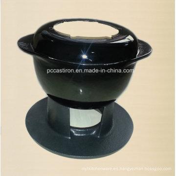 Fundición de queso de hierro fundido de esmalte China Proveedor