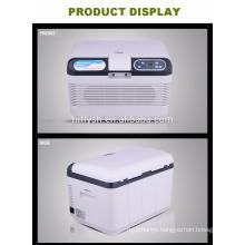 HF-AQ-12L(104) DC12-1-24V AC 220V car and home double use car refrigerator car cooler(CE certificate)