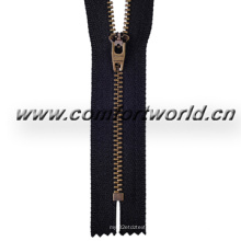 3 # Anti Brass Zipper H Unten