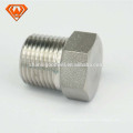 ss pipe fitting Stainless Steel Hex Head Plug