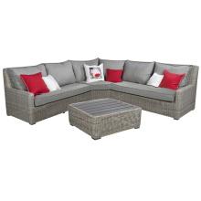 Outdoor Rattan Wicker Lounge Sofa Set Garden Patio Furniture