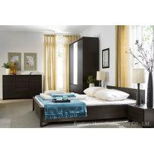 Ensembles de meubles de chambre à lames simples et modernes (HF-EY08266)