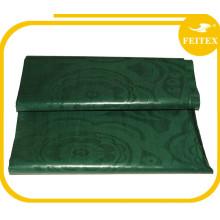 100% Cotton Normal Quality Textile Material Jacquard Fabric Cotton Guinea Garment Bazin Riche China Supplier