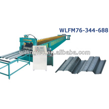 Machine de décapage de plancher en acier à rouleaux de haute qualité