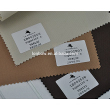 High end light lycra wool brown suit fabric for stock service
