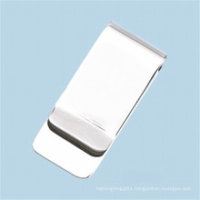 Cheap Promotional Printing Logo Stainess Steel Metal Money Clips
