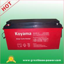 Batterie scellée de cycle profond 150ah 12V