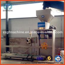 Máquina de enchimento e empacotamento para alimentação e grãos