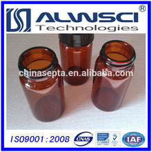 Herstellung 40ML Amber EPA VOA Glasflasche, Borosilikatglas