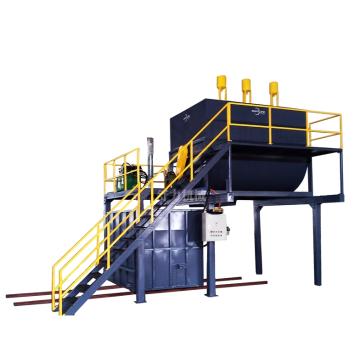 machine de recyclage de mousse dans l'usine de production de tampons à récurer