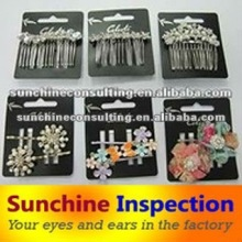 Fashion accessories Inspection and testing services