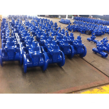 DIN Standard Ductile Iron Non Rising Stem Resilient Seated Gate Valve (DN40 to DN1200)