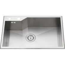 S1109 304# S. S Single Bowl Handcraft Sink