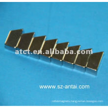 ladder-shaped neodymium magnets/motor magnets/trapezoid magnet