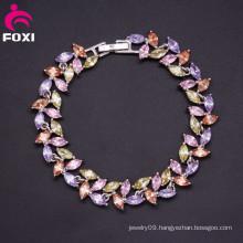 Luxury Design Gemstone Fashion Sexy Charm Bracelet for Ladies