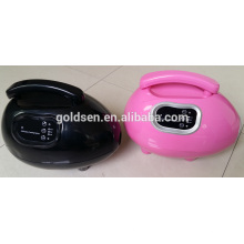 Home Mini sistema de la máquina de la cama que broncea de la piel HVLP Handheld Spray Tan Gun Portable Profesional Interior Body Tanning Loción