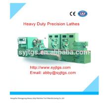 Maquinaria de torno de precisión de uso pesado Precio de venta caliente en stock