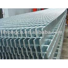 Grille métallique, grille métallique galvanisée à chaud, égouttoir à grille, grille de barre