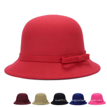 Lady Fashion Cotton Polyester Knitted Winter Bucket Hat (YKY3244)