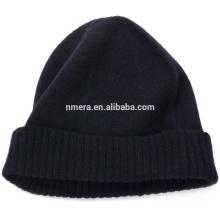 Innere Mongolei Hersteller benutzerdefinierte reine Wolle Strickmütze Dame HWD0002 reine warme Winter Twist Cap