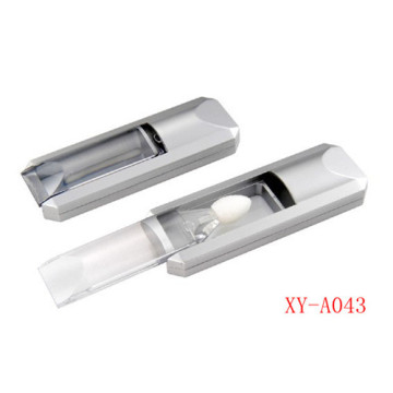 Silver Plastic Lip Gloss Packaging