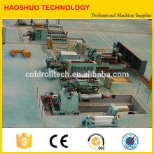 Haute qualité HR CR SS GI Marque nouveau ou d'occasion Bobine d'acier Slitting line