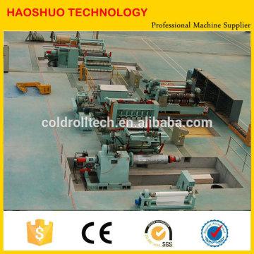 Qualidade superior HR CR SS GI brandnew ou usado Bobina de aço que corta a linha