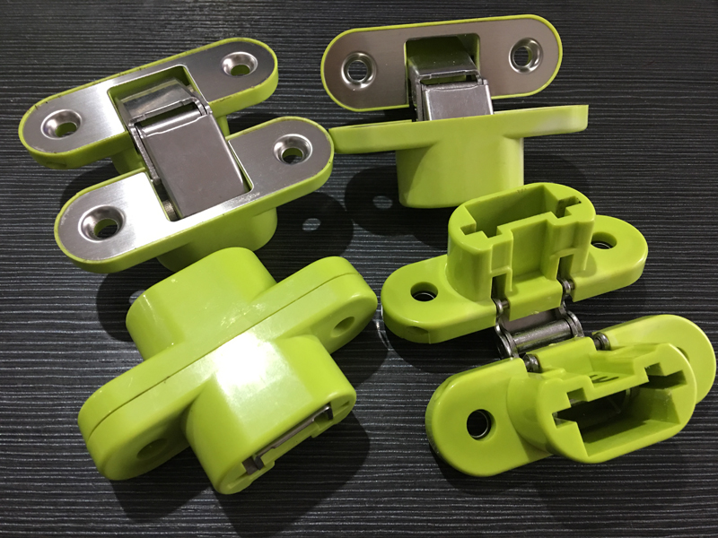 Plastic Stainless Steel Furniture Hardware Hinges
